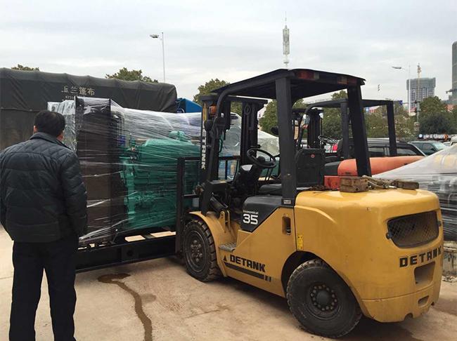 中国人民银行吉首人民支行在明邦科联订购350KW康明斯柴油发电机组