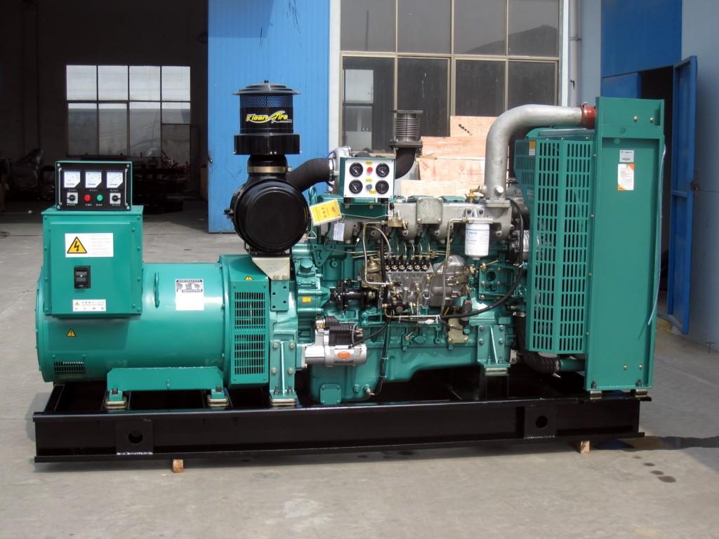 娄底市消防中队购买长沙明邦400KW玉柴柴油发电机组