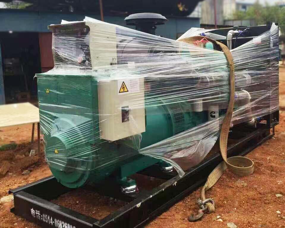 长沙聚美合豆制品有限公司购买安装明邦500KW玉柴发电机一台