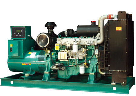 湖南桂阳金煌管道燃气有限公司安装200KW玉柴柴油发电机一台