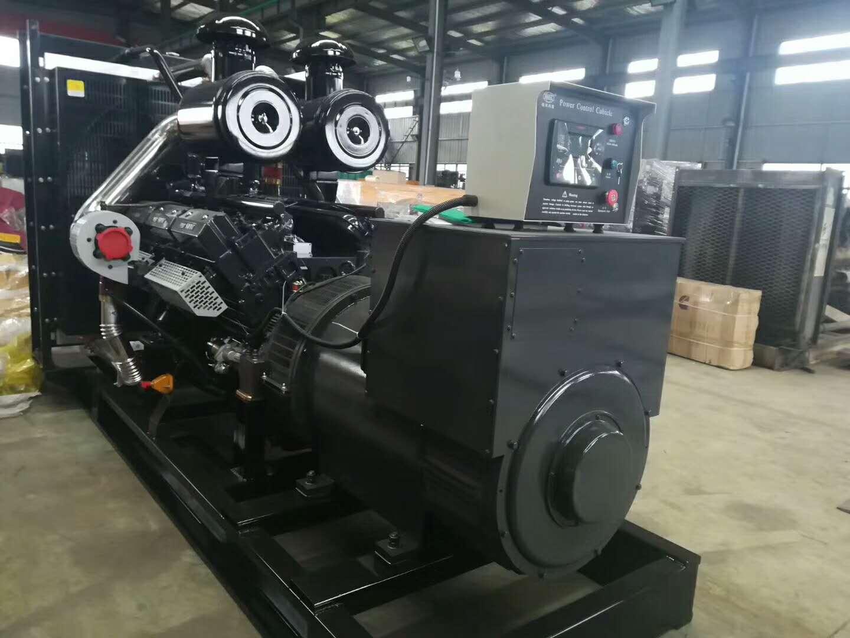 明邦科联为江西萍乡宏盛新型墙体材料厂提供500kw上柴智能发电机
