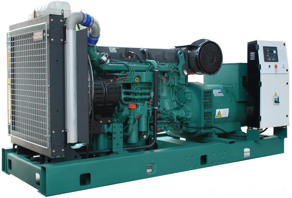 明邦为湘西龙山县新世纪大酒店提供200KW沃尔沃发电机一台