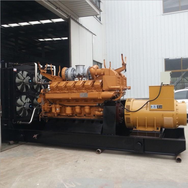 长沙明邦为株洲攸县龙会村小乌仙煤矿提供630kw济柴柴油发电机一台