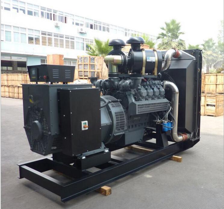 明邦为常德市淮阳中学安装200KW上海凯普发电机一台