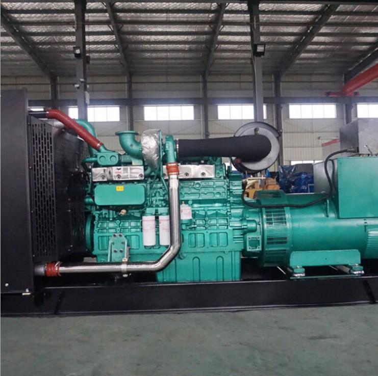 张家界慈利污水处理厂安装明邦300kw玉柴柴油发电机组