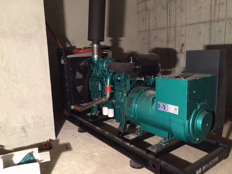 明邦为永州安大公馆安装300kw玉柴柴油发电机