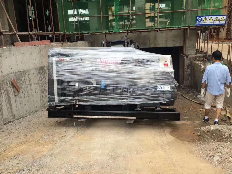 永州道县西班牙花园小区在明邦购置300kw潍柴发电机一台