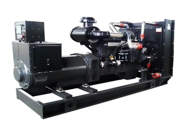明邦为郴州中悦房地产安装350kw上柴发电机一台