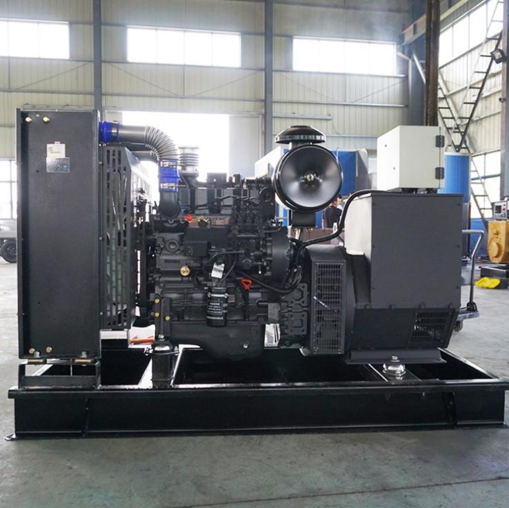 明邦为株洲茶陵凯华置地公司安装300kw上柴发电机一台
