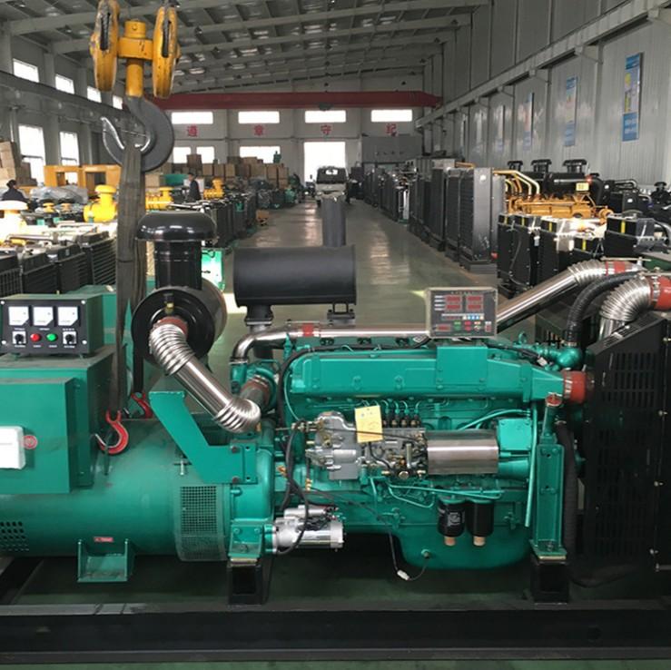 江西宜春赛利达科技公司安装明邦100kw潍柴发电机一台