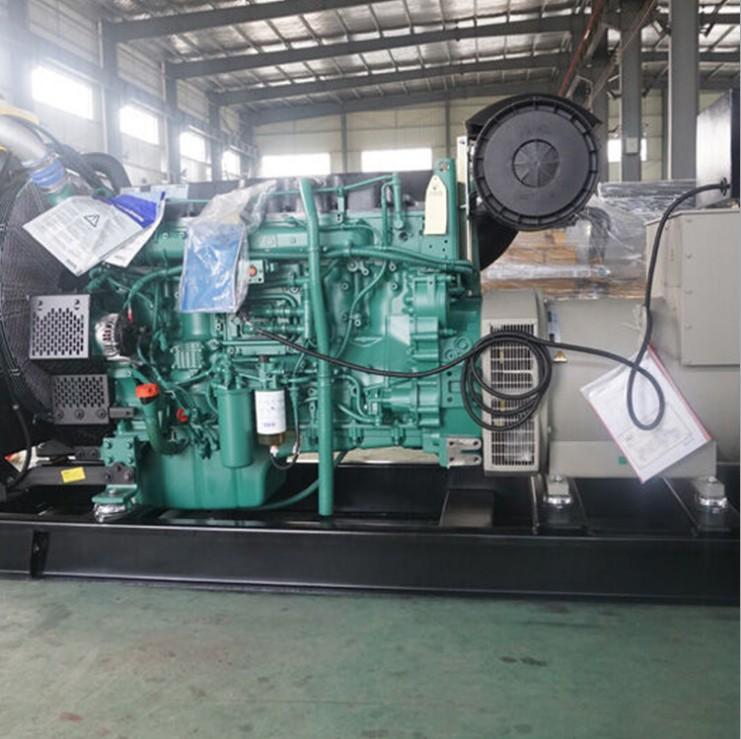 株洲攸县丰茂煤矿购置亚博app下载安卓500kw沃尔沃发电机一台