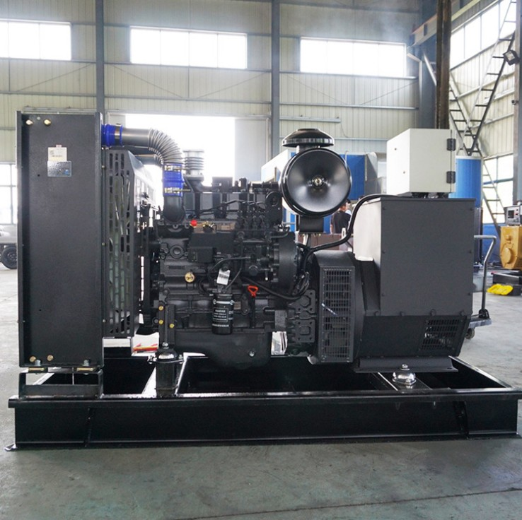 郴州大塘煤矿公司安装明邦500kw上柴发电机组一台