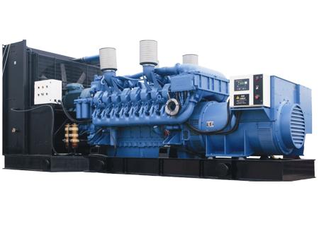 910千瓦奔驰柴油发电机组
