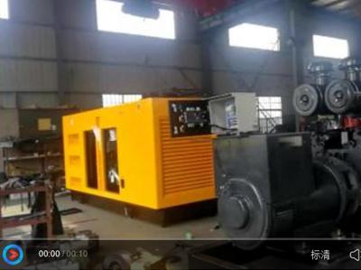 实拍:明邦科联智能发电机组生产厂房