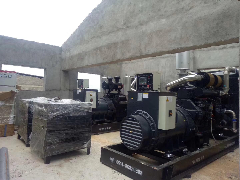 畜牧养殖场定购600KW上柴股份柴油发电机组