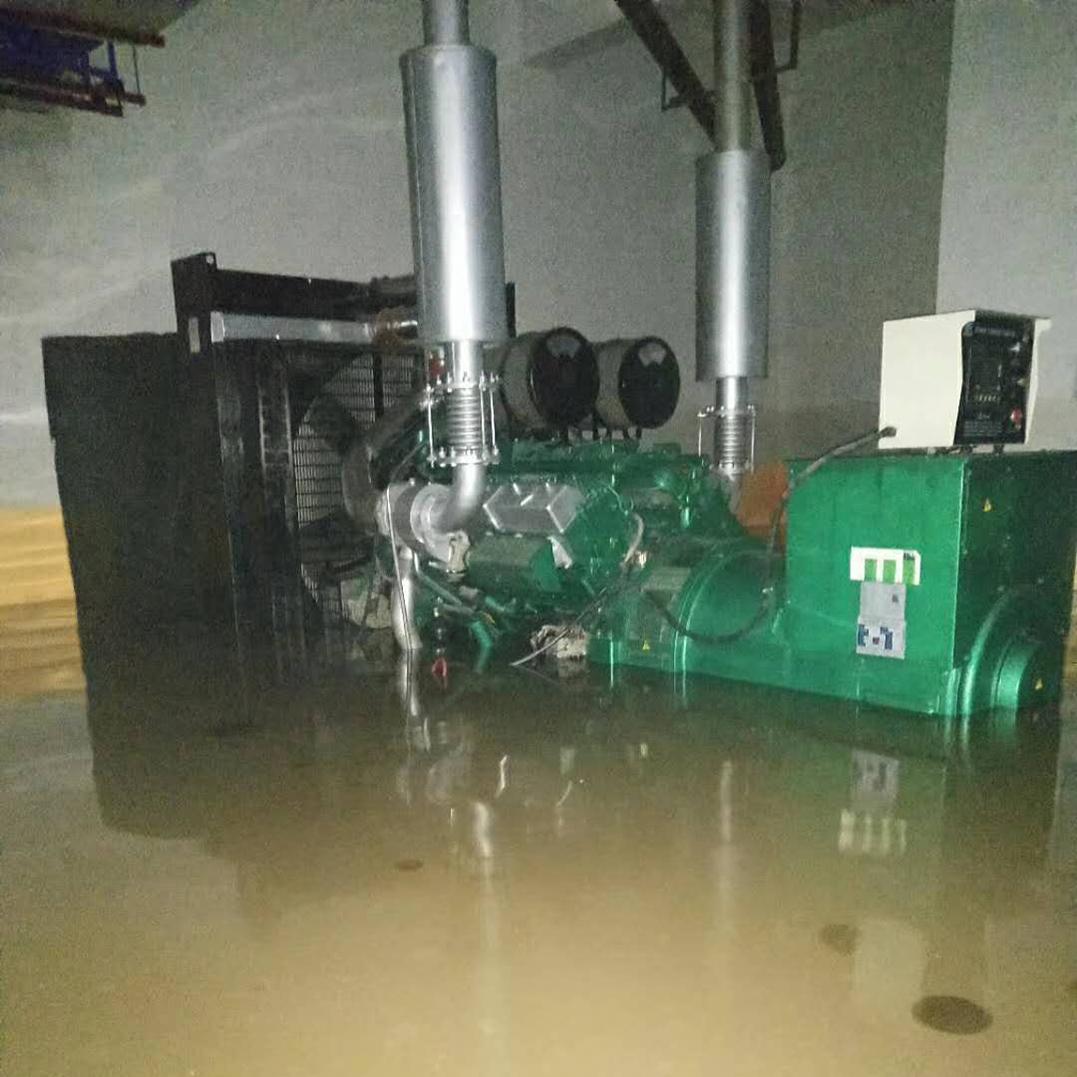 明邦发电机在水中浸泡超20小时仍能启动发电