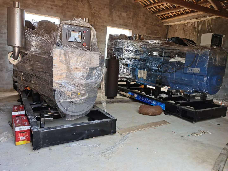明邦为湖南新五丰养殖基地提供300kw玉柴发电机两台