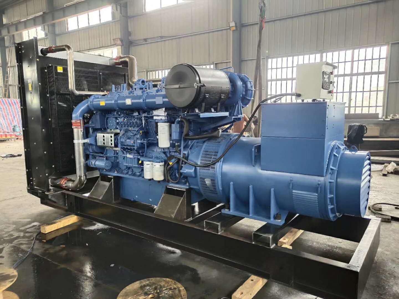明邦300kw上柴发电机在邵阳天地酒店安装完成!