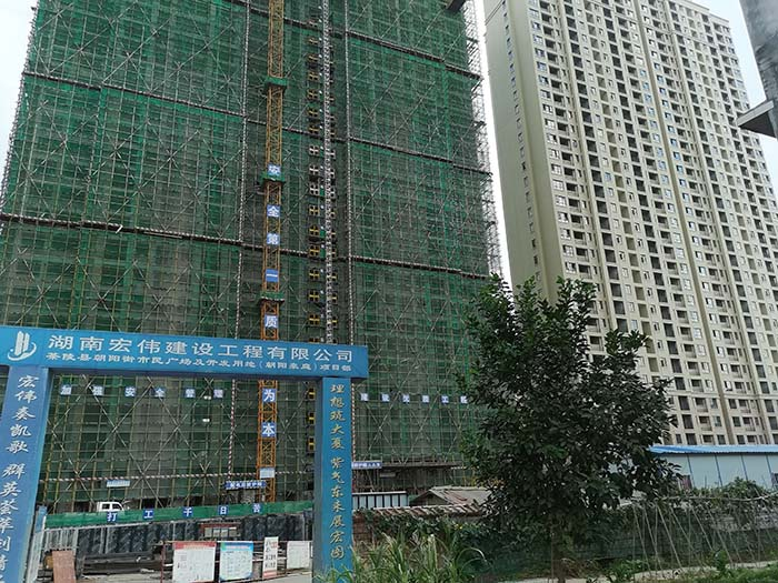明邦400kw上柴发电机在株洲茶陵朝阳豪庭小区安装完成!