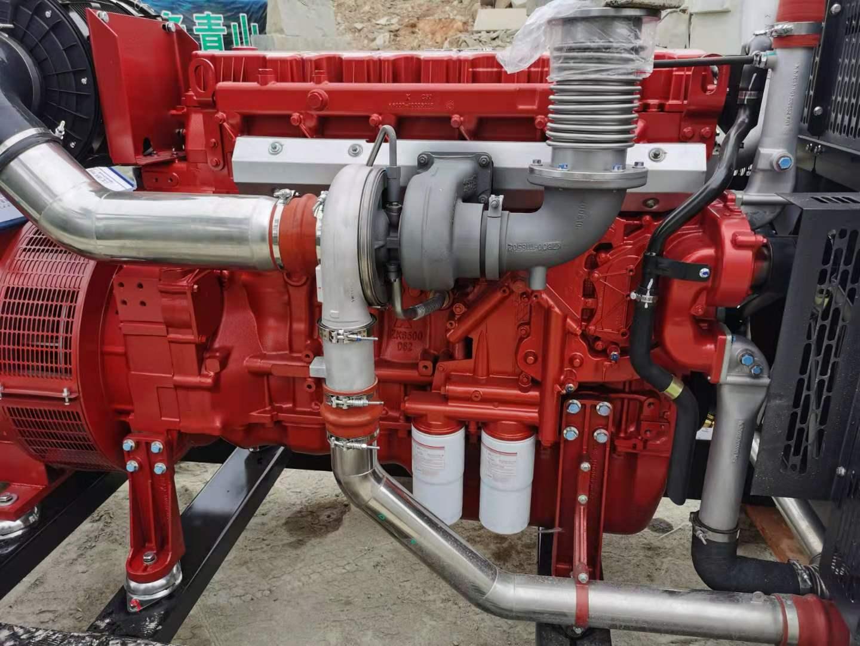怀化溆浦石材厂安装明邦350KW玉柴发电机
