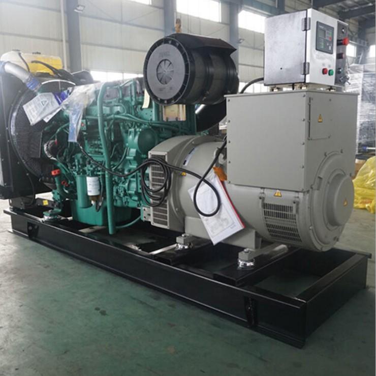 明邦为湖南友文公司提供400KW沃尔沃发电机2台