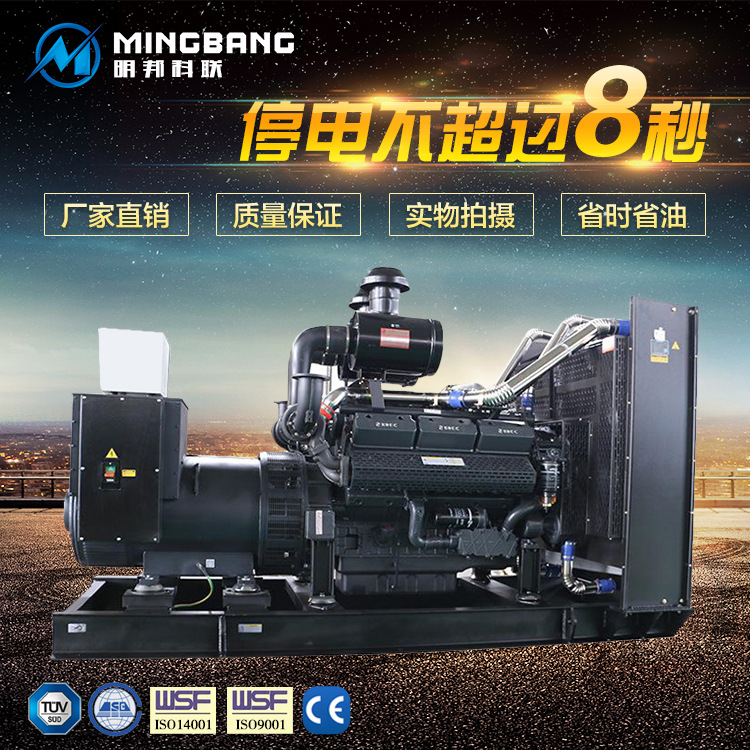 明邦为岳阳凤凰山原种猪场提供120kw潍柴发电机一台