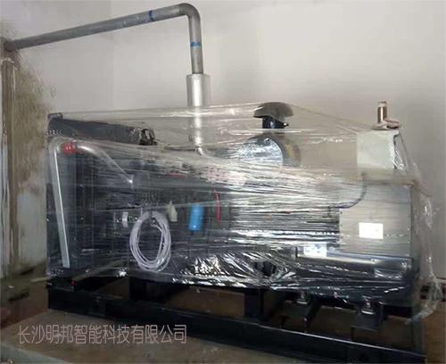 江西明龙公司购买明邦300kw上柴发电机组一台